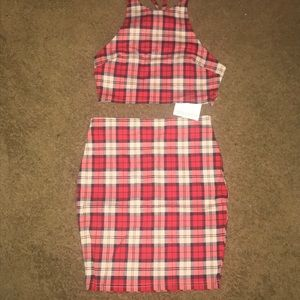 Plaid Named Wardrobe 2 Piece